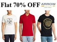 Get Arrow T shirts at Minimum 50% Off From Rs. 359 + FREE SHIPPING