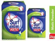 PRICE DOWN - Surf Excel Matic Top Load Detergent 2 kg at Just Rs. 210