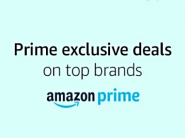 Prime Exclusive Deals - Top Lightning Deals To Choose Only For Prime