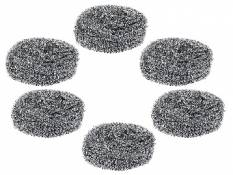 Price Down :- Gala Steel Scrubber Combo Set of 6 In Just Rs. 99