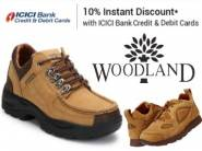 Mega Saving:- Min. 40% off on Woodland + Extra 10% off OR 20% Cashback