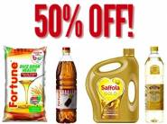 Stay Fit:- Min. 50% Off on Branded Oils & Edibles + Rs. 75 Cashback