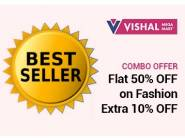 Flat 50% OFF on Fashion, Buy 1 Get 1 Free + Extra 10% OFF + Free Shipping