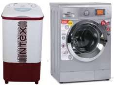 Washing Machines upto 33% off + 10% off + upto Rs. 3000 off (Exchange)