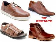 Back Again : Flat 70% Off REDTAPE Footwear With FREE Shipping