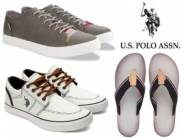U.S. Polo Assn. Footwear min 40% OFF from Rs. 415 + FREE SHIPPING