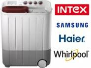 Top Brand Washing Machines at Upto 40% off + Extra 15% Cashback