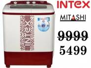 Blasting Offers- Top Brand Washing Machines at Upto 40% off + Extra 10% off