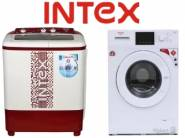 intex Washing Machine at Upto 40% OFF + Extra Rs. 1500 OFF