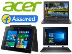 Acer Laptops at Up to 25% Off From Rs. 9900 + FREE Shipping !! EMI Options too!!