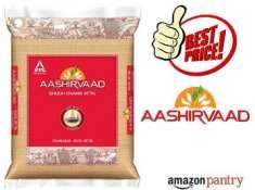Rs. 75 Cashback : Aashirvaad Shudh Chakki Atta, 10 kg at Just Rs. 218