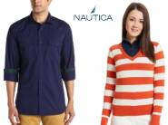Premium Deal : Nautica Clothing Min. 70% OFF from Rs. 259 + Free Shipping