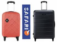 New Stock- Safari Luggages at Min. 70% Off + [HDFC & PhonePe Offer]