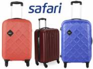 Stock Added- Safari Luggages Minimum 72% Off + Extra Rs. 750 off