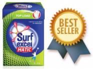 Rs.50 Cashback : Surf Excel Matic Top Load Detergent Powder 2 kg at Rs. 255