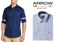 ARROW Shirts at Flat 65% - 80% off From Just Rs. 629 + FREE Shipping