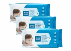 Loot Deal - Mee Mee Caring Baby Wet Wipes [216 Pcs] at Just Rs. 99