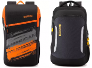 American Tourister backpack at Minimum 50% OFF From Rs. 468