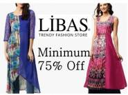 Best Buy - Libas Womens Kurtas Minimum 76% Off From Just Rs. 191