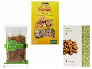 Festive Feast:- Dried Fruits, Nuts & Seeds at Up to 70% off & More