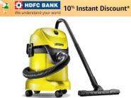 Lowest Price:- Karcher WD 3 Multi-Purpose Vacuum Cleaner + Extra 10% Off