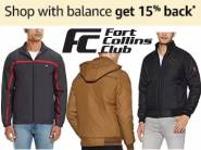 Fort Collins Jackets at Flat 50- 70% Off From Rs. 522 + Extra 15% Cashback