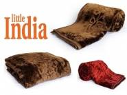 Must Buy- Little India Embossed Double Blanket at Rs. 459 [MRP Rs. 3599]