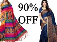 70% - 90% Off : E-vastram Branded Saress From Rs.299{More Offer Inside}