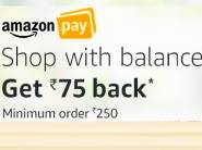 Live Now - Shop For Rs. 250 & Get Flat Rs. 75 Cashback