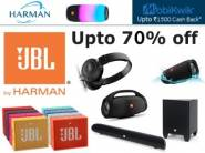 JBL By Harman Top Products at Up to 70% off + Extra Rs. 200 Off
