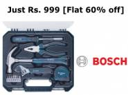 Top Selling - Bosch 2.607.002.791 Tool Kit Set (12-Pieces) at Rs. 999