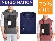 FLat 70% Off : Indigo Nations Men