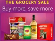 Grocery Sale:- Buy More & Save More [Extra 10% off + Rs. 50 Cashback on Bulk]