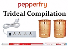 Pepperfry Tri Deal Compilation at Just Rs. 598 [ Including Shipping ]