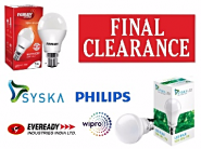 Clearance Sale On LEB Bulbs From Just Rs. 89 {Flipkart Assured}