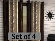Back In Stock:- Home Sizzler Long Door Curtain 9ft (Set of 4) at Rs. 659