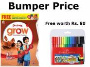 Great Discount - Protinex Grow - 400 g + Free (Faber Sketch Set 15) at Rs.160