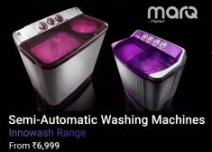 New Launch - MarQ by Flipkart Washing Machines from Rs 6999