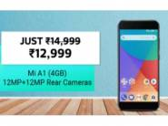 Big Discount Ever - Mi A1 (Gold, 64 GB) (4 GB RAM) at Just Rs. 11699