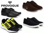 Top Selling Brand - Provogue at Flat 75% OFF + Extra Rs. 150 Cashback