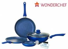 Big Discount : Wonderchef Non-Stick Royal Velvet Cookware Set at Rs. 1395