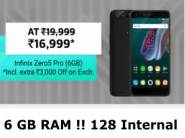 First Sale:- Infinix Zero 5 Pro (128 GB) (6 GB RAM) at Just Rs. 15399