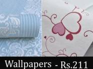 Lowest Price Ever : Woltop Wall Stickers (500 Cm) at Rs. 211 With Extra 15% Cashback