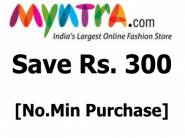[New Users]:- Products at Up to Rs. 300 off [No Min. Purchase] + Free Shipping