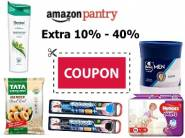 Extra 10% - 40% Coupon:- Daily Needs Pantry Products at Great Discount