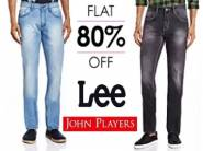 Flat 80% OFF On Men