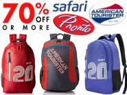 Its Wow Deal:- Top 10 Backpacks Brands at Min. 70% off + Free Shipping