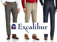 New Stock :- Excalibur Men Trousers at Flat 50% off + Free Shipping