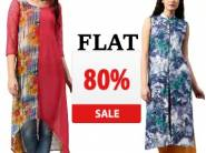 Flat 80% Off : Libas Women