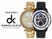 New Stock:- Daniel Klein Watches at Min. 50% OFF + 10% Cashback